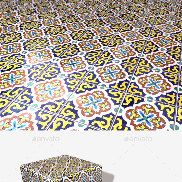 Patterned Tiles Seamless Texture