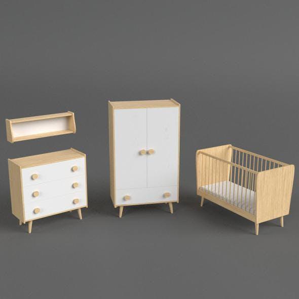 Infant Bedroom Furniture set