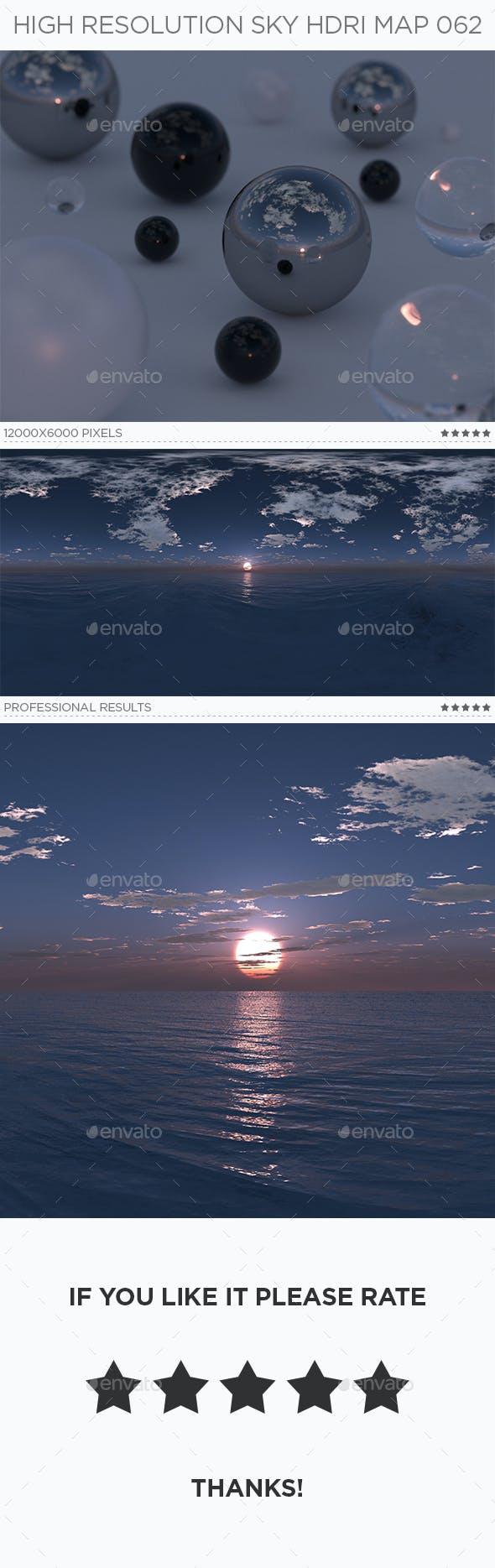 High Resolution Sky HDRi Map 062 - 3DOcean Item for Sale