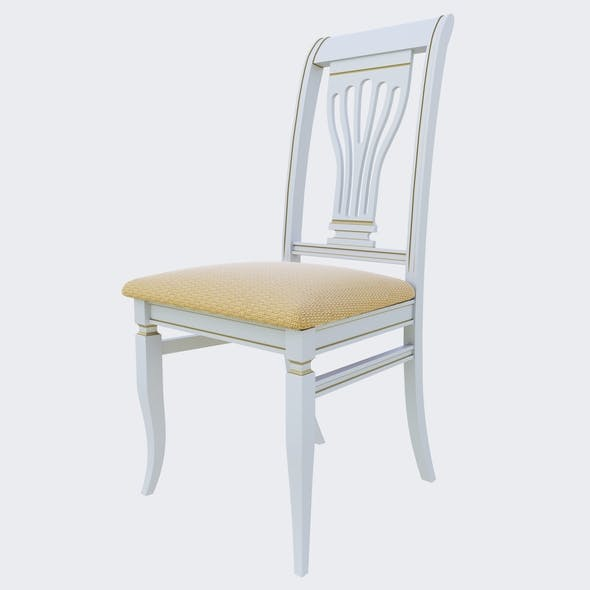 The Albero chair - 3DOcean Item for Sale