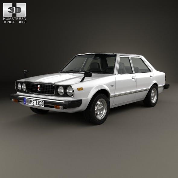 Honda Accord sedan 1977 - 3DOcean Item for Sale