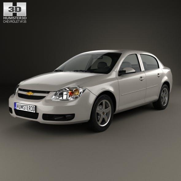 Chevrolet Cobalt sedan 2004 - 3DOcean Item for Sale