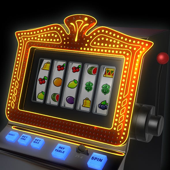 Slot Machine animated - 3DOcean Item for Sale