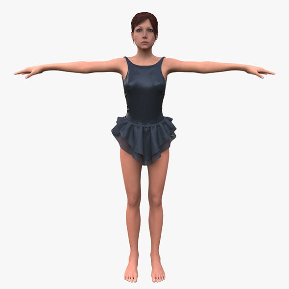 Girl - 3DOcean Item for Sale