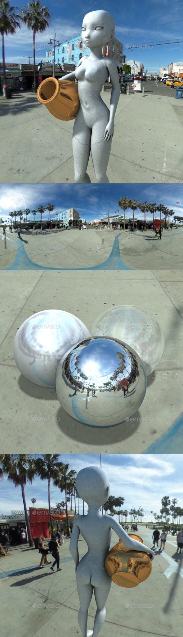 Sunny Skate Park HDRI - 3DOcean Item for Sale
