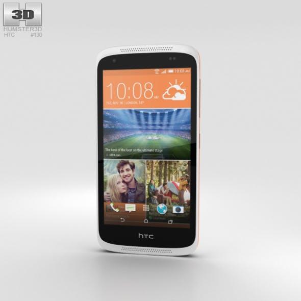 HTC Desire 526G+ Fervor Red - 3DOcean Item for Sale