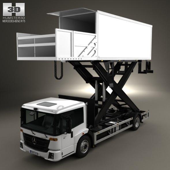 Mercedes-Benz Econic Airport Lift Platform Truck 2013 - 3DOcean Item for Sale