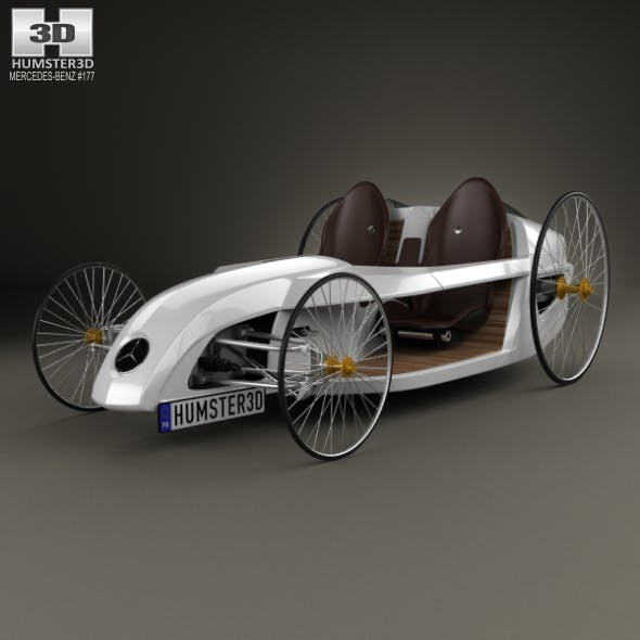 Mercedes-Benz F-Cell Roadster 2009 - 3DOcean Item for Sale