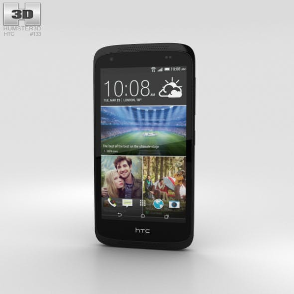 HTC Desire 526G+ Stealth Black