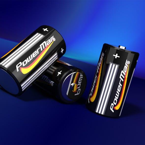 Batteries with studio lightning