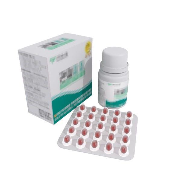 Medicine Bottle & Box set - 3DOcean Item for Sale