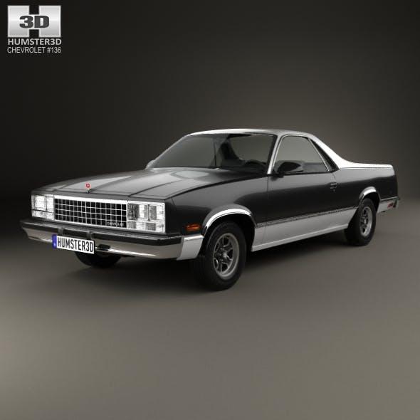 Chevrolet El Camino 1982 - 3DOcean Item for Sale
