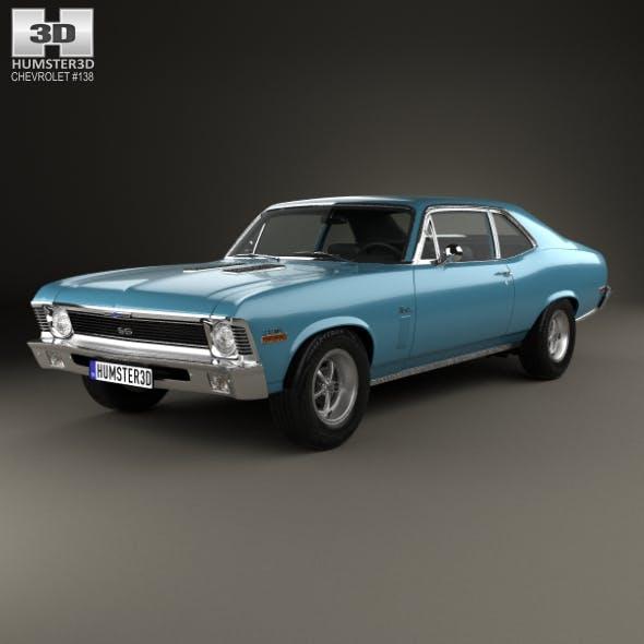Chevrolet Nova SS 396 1970 - 3DOcean Item for Sale