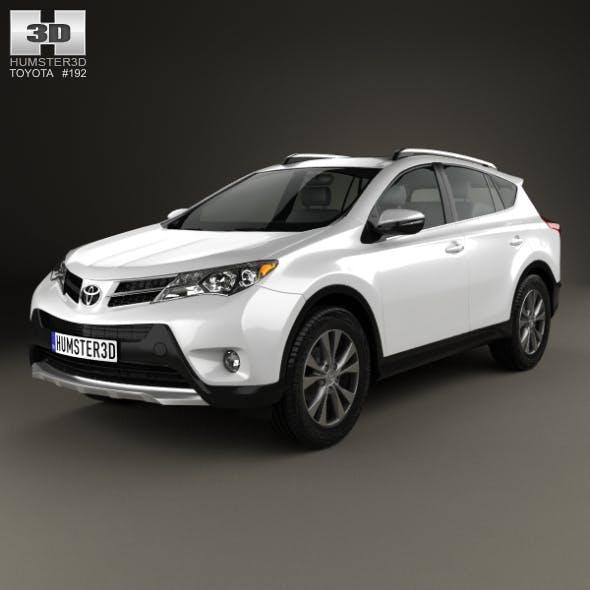 Toyota RAV4 (XA40) EU-spec 2013