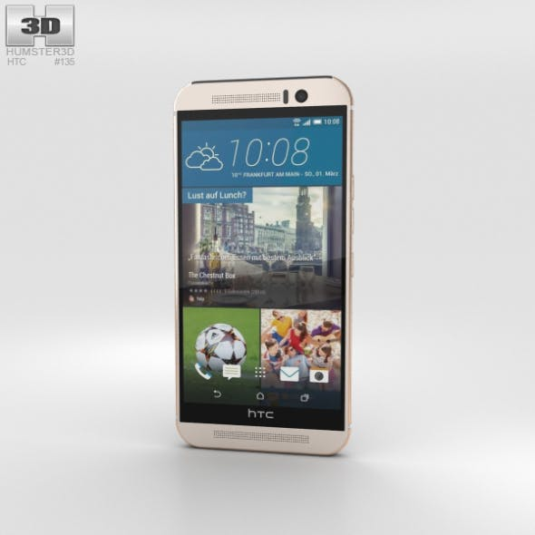 HTC One (M9) Silver Rose Gold