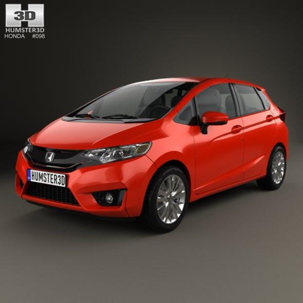 Honda Fit US-spec 2014