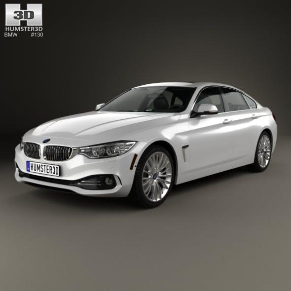 BMW 4 Series (F36) GranCoupe LuxuryLine US-spec 2014
