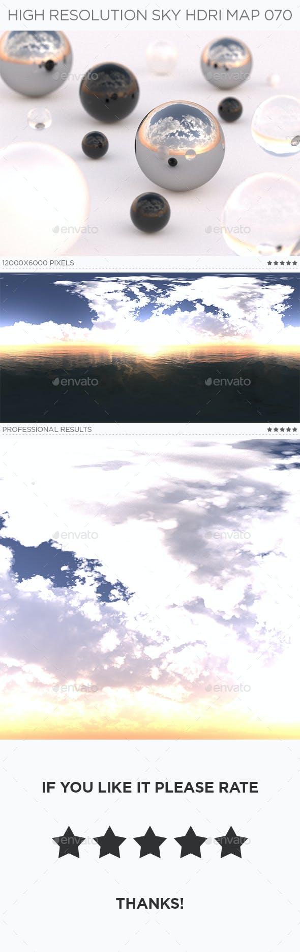 High Resolution Sky HDRi Map 070 - 3DOcean Item for Sale