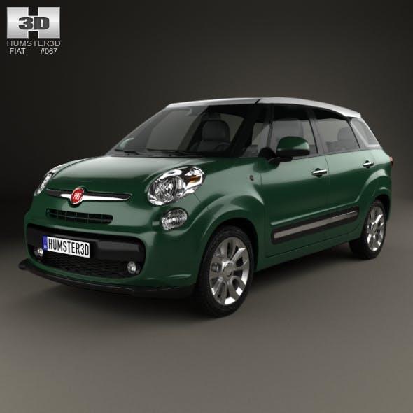 Fiat 500L (330) Living 2013 - 3DOcean Item for Sale