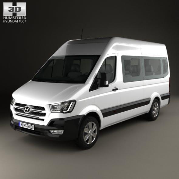 Hyundai H350 Passenger Van 2015 - 3DOcean Item for Sale