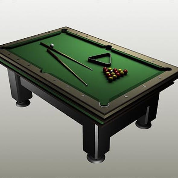 Billiard (Pool) Table
