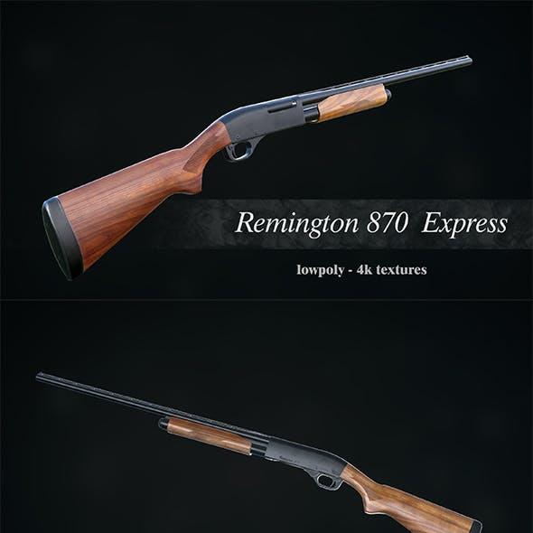 Low Poly Remington 870 Express