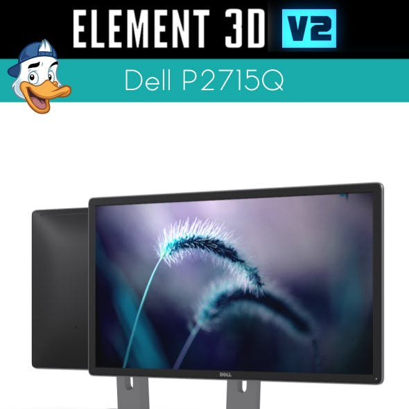 Dell P2715Q for Element 3D