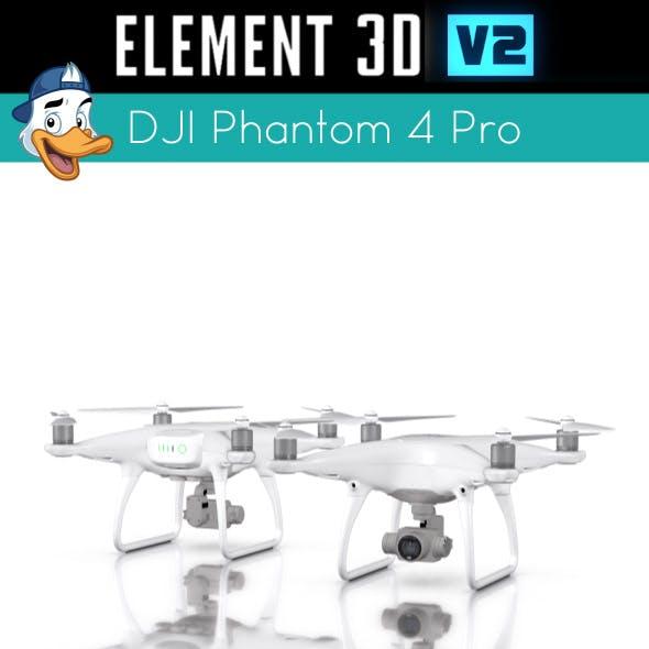 DJI Phantom 4 Pro for Element 3D