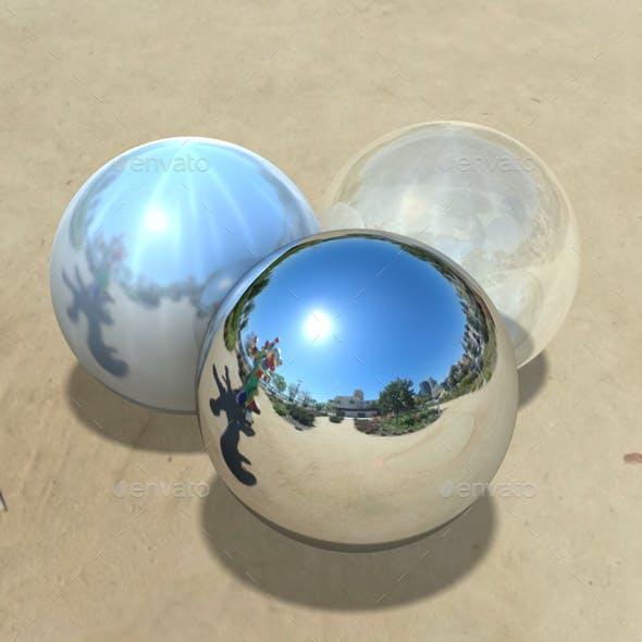 Clear Sky Sculpture Park HDRI