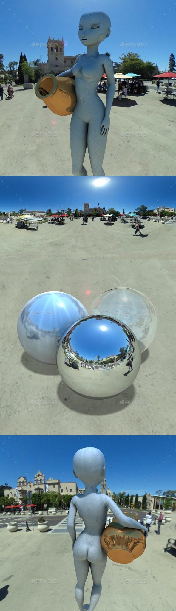 San Diego Balboa Park HDRI - 3DOcean Item for Sale