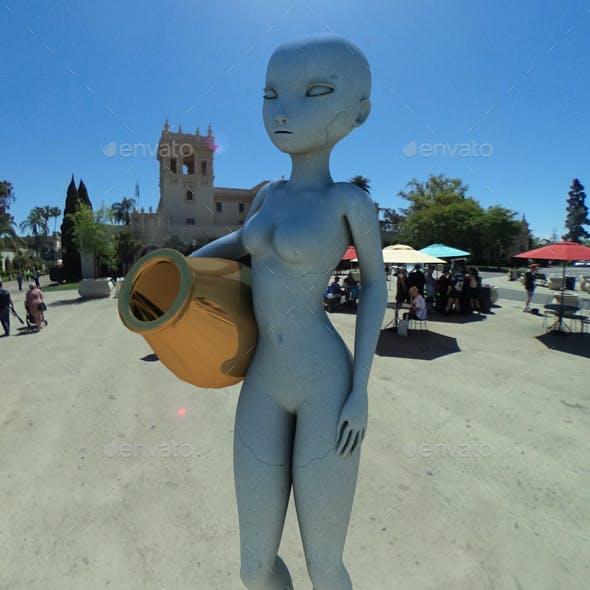 San Diego Balboa Park HDRI
