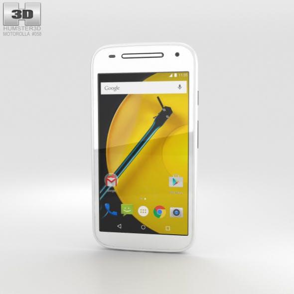 Motorola Moto E (2nd Gen.) White
