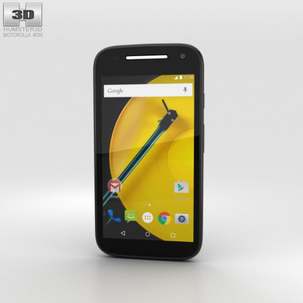 Motorola Moto E (2nd Gen.) Black