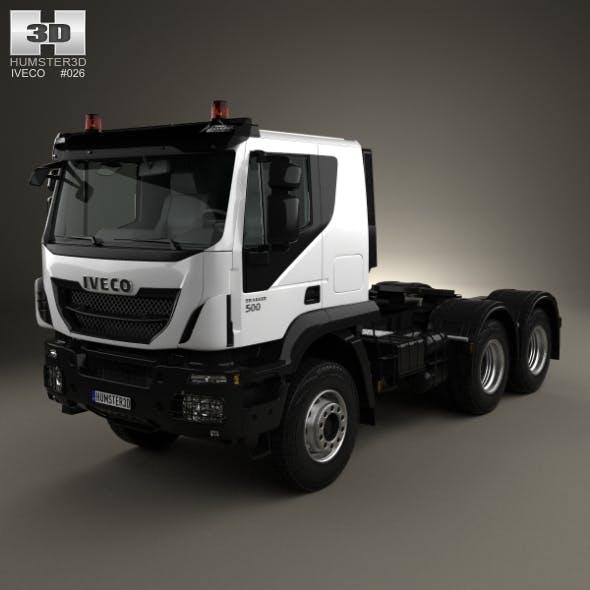 Iveco Trakker Tractor Truck 3-axle 2013