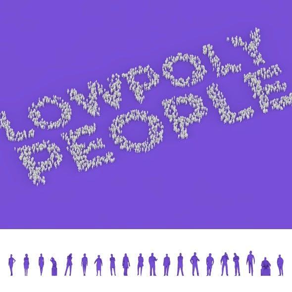 20 Lowpoly People