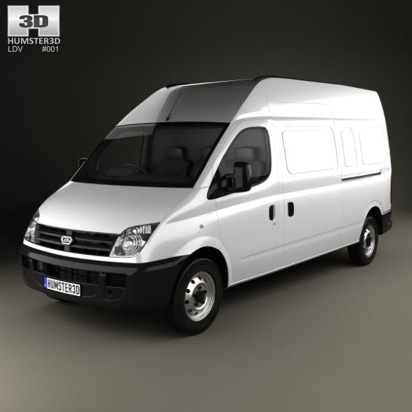LDV Maxus Panel Van 2004 - 3DOcean Item for Sale