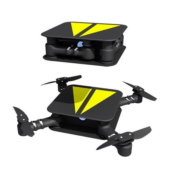 Folding Drone - 3DOcean Item for Sale