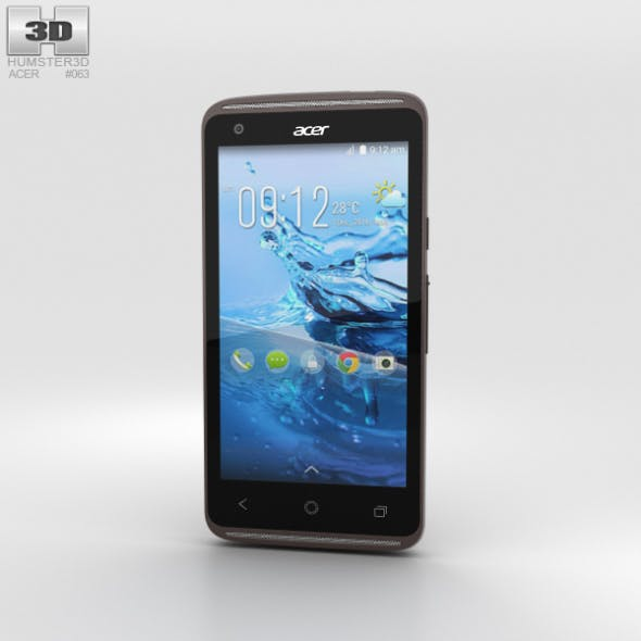 Acer Liquid Z410 Black - 3DOcean Item for Sale