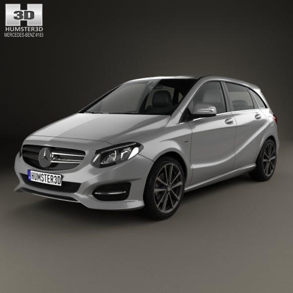 Mercedes-Benz B-Class (W246) Urban Line 2014 - 3DOcean Item for Sale