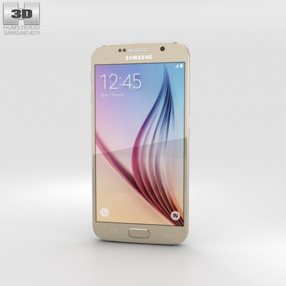 Samsung Galaxy S6 Gold Platinum - 3DOcean Item for Sale