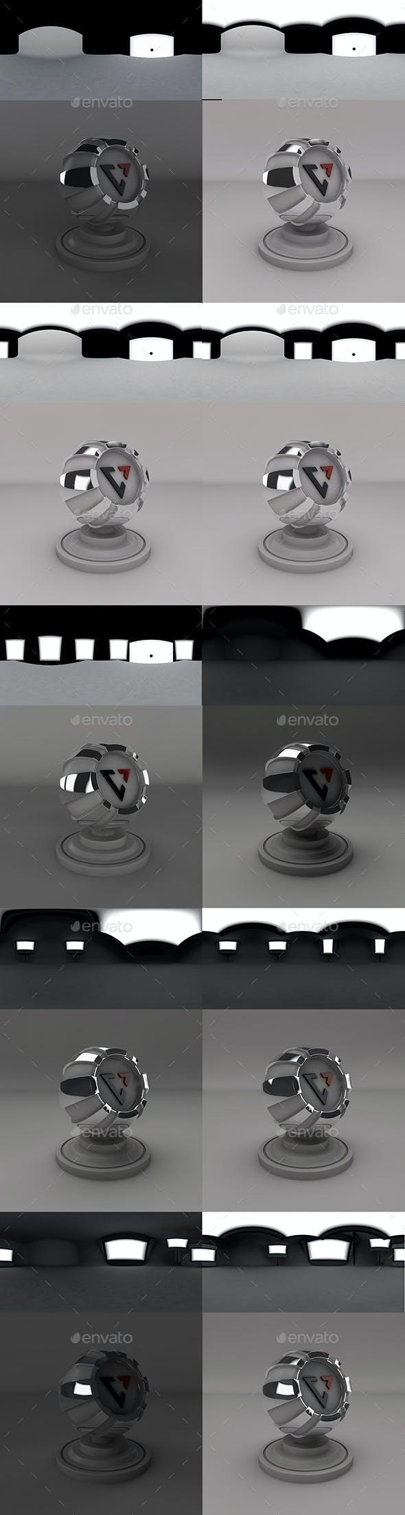 HDRI Studio Set Up 2 - 3DOcean Item for Sale