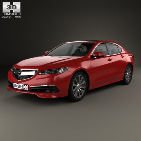 Acura TLX 2014 - 3DOcean Item for Sale