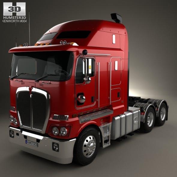 Kenworth K200 Tractor Truck 2010 - 3DOcean Item for Sale