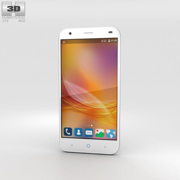 ZTE Blade S6 White - 3DOcean Item for Sale