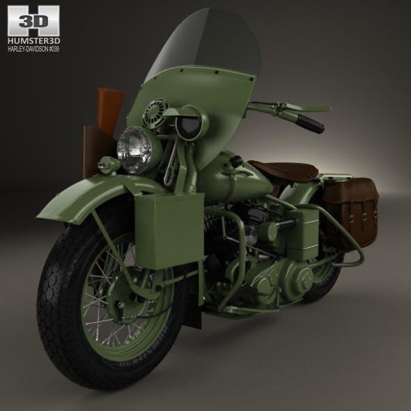 Harley-Davidson WLA 1941