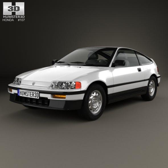 Honda Civic CRX 1988