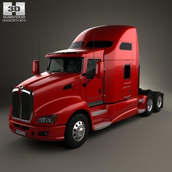 Kenworth T660 Tractor Truck 2008
