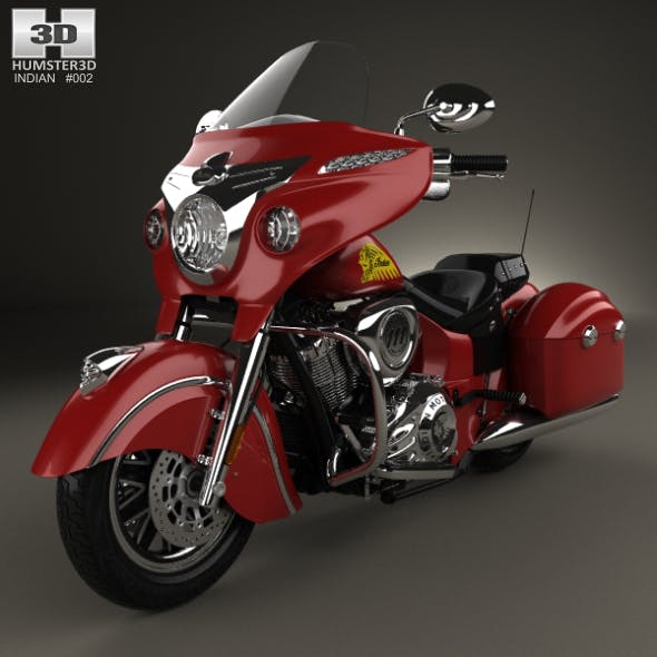Indian Chieftain 2015 - 3DOcean Item for Sale