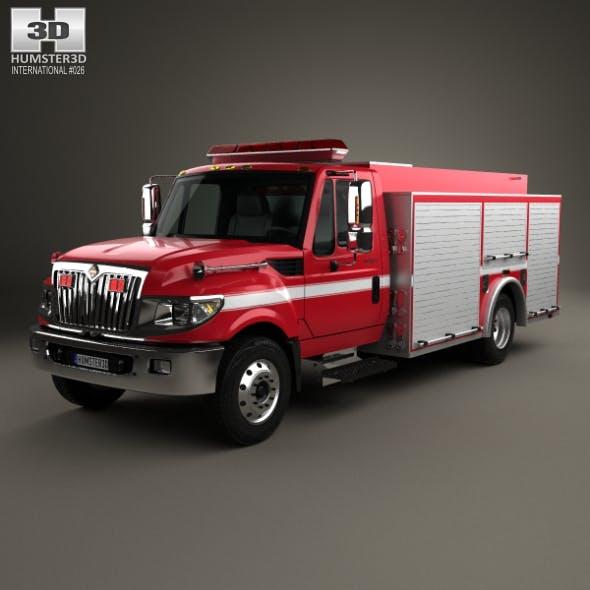 International TerraStar Firetruck 2010 - 3DOcean Item for Sale