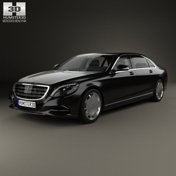 Mercedes-Benz S-Class (W222) Maybach 2016 - 3DOcean Item for Sale